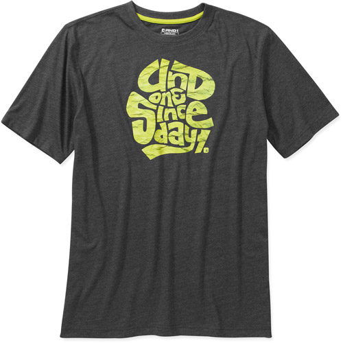And 1 Men's Crushed Graphic Tee