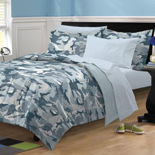 my room geo camo bedding comforter set walmart.com