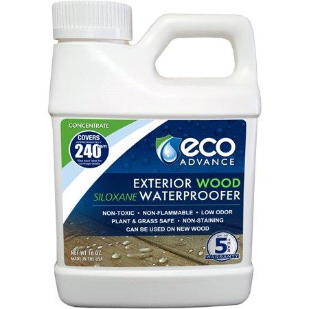 Eco Advance Wood Siloxane Waterproofer  Liquid Concentrate  16 Oz