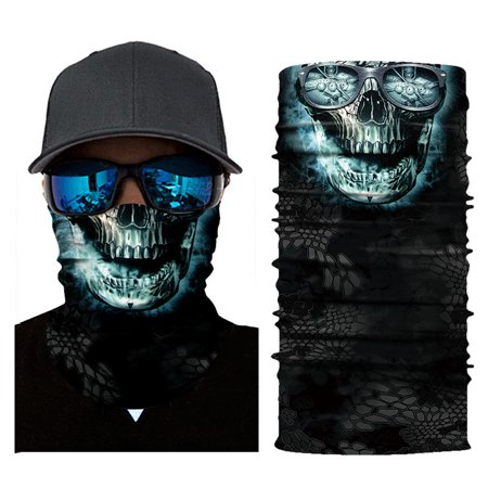 Cool Robot Skeleton Mask Scarf Joker Headband Balaclavas for Cycling Fishing Ski Motorcycle](Joker Ski Mask)