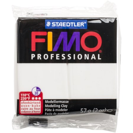 Fimo Professional Soft Polymer Clay 2oz-White