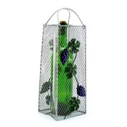 Wine Bodies Gift Bag, Grapes 1 Bottle Tabletop Wine Rack