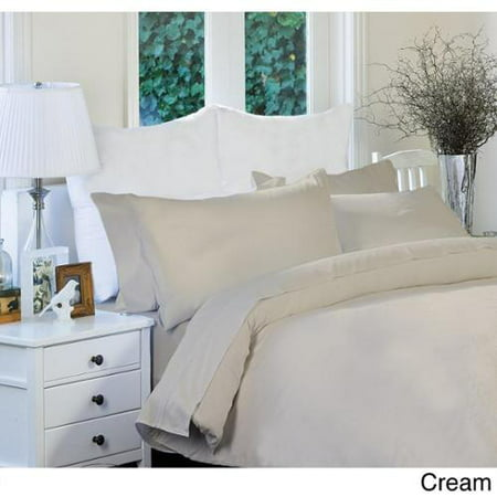 1800 Series Wrinkle Free Ultra Soft Solid 6-piece Sheet Set Full-Cream