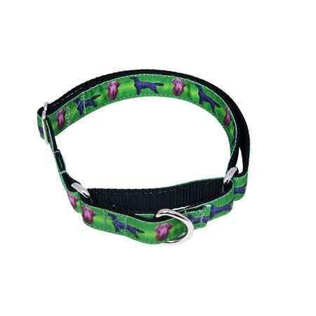 Country Brook Design® Flat Coated Retriever Ribbon Martingale Dog
