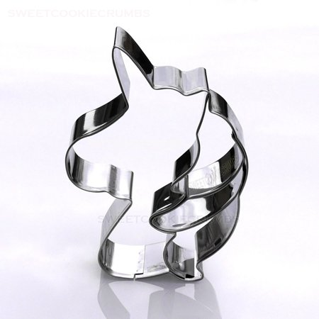 Unicorn Head Cookie Cutter - Stainless Steel ()