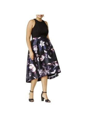 4d47c4e6cd Product Image City Chic Womens Plus Hi-Lo Floral Print Formal Dress