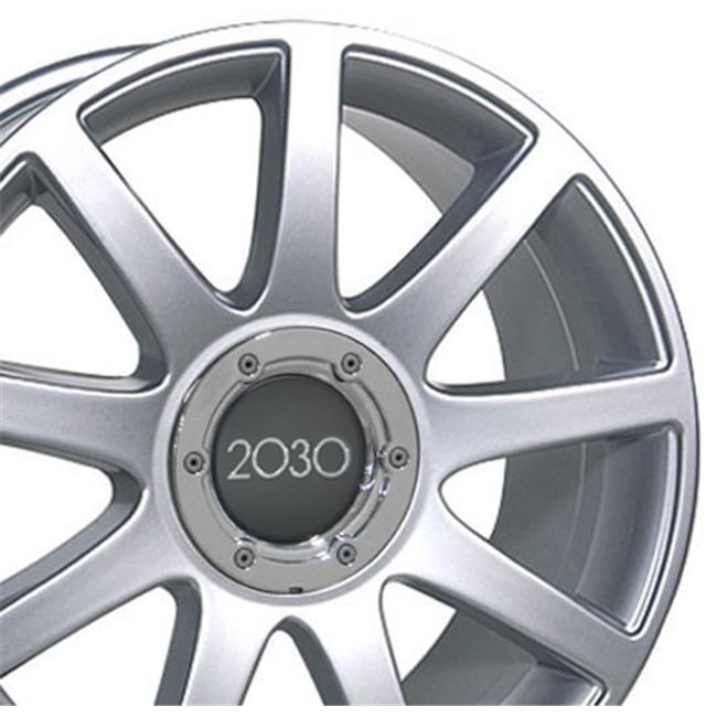 18 x in. Wheel, Silver for Audi RS4