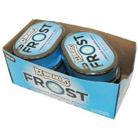 Product Of Ice Breakers Frost, Mints Peppermint - Can, Count 6 (1.2 oz) - Mints / Grab Varieties & Flavors