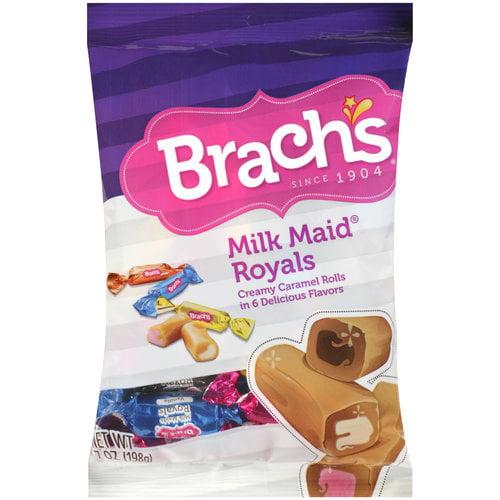 Brach?s Milk Maid Royals Creamy Caramel Rolls, 7 oz