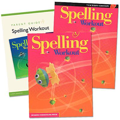 Spelling Workout Homeschool Bundle Level a Copyright