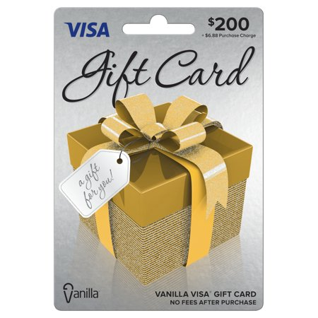 Visa $200 Gift Card (Best Place To Sell Gift Cards In Person)