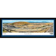 sonoma raceway - blakeway panoramas nascar print with select frame and single mat