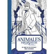 Animales Fantsticos Y Dnde Encontrarlos: Un Libro de 20 Postales Para Colorear (Paperback)