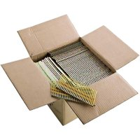 """Grizzly Industrial G6098 3-1/4"""" 20-22 Deg Round Head Galvanized Framing Nails, 4000 pc."""