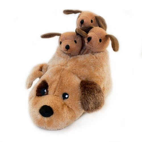 ZippyPaws Slipper Nest Squeaky Hide and Seek Plush Dog Toy Dog