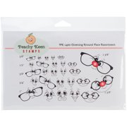 Peachy Keen Stamps Clear Face Assortment 27/Pkg-Clowning Around
