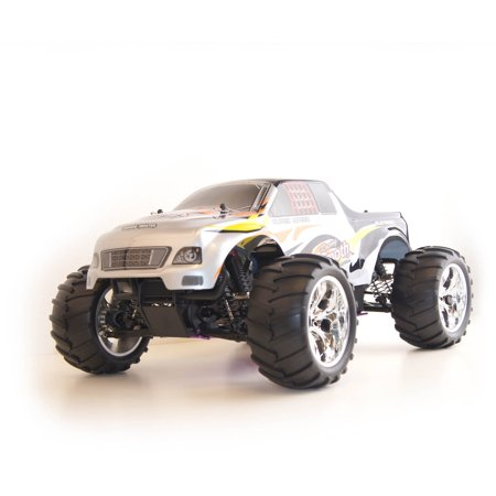 Image of 1/10 Scale RCC1081SILVER R/C Gas Powered 4WD Off-Road Truck