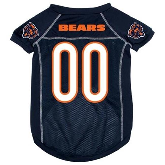 Hunter Mfg DN-303761 Chicago Bears Deluxe Dog Jersey - Small