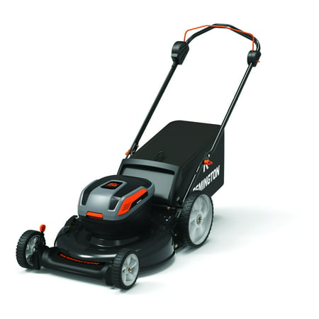 "Remington RM4060 21"" 40V Cordless Lawn Mower with Side Discharge, Mulching, Rear Bag"