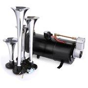 Best Air Horn Kits - 120PSI 4 Trumpet Train Air Horn Kit Compressor Review