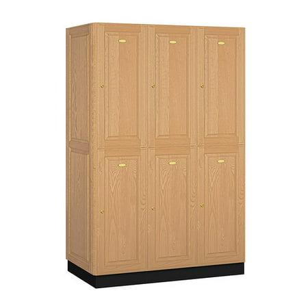 - Salsbury Industries 2 Tier 3 Wide Gym and Locker Room Locker
