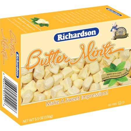 Richardson Butter Mints, 5.5-Ounce Boxes (Pack of - Butter Cream Mints