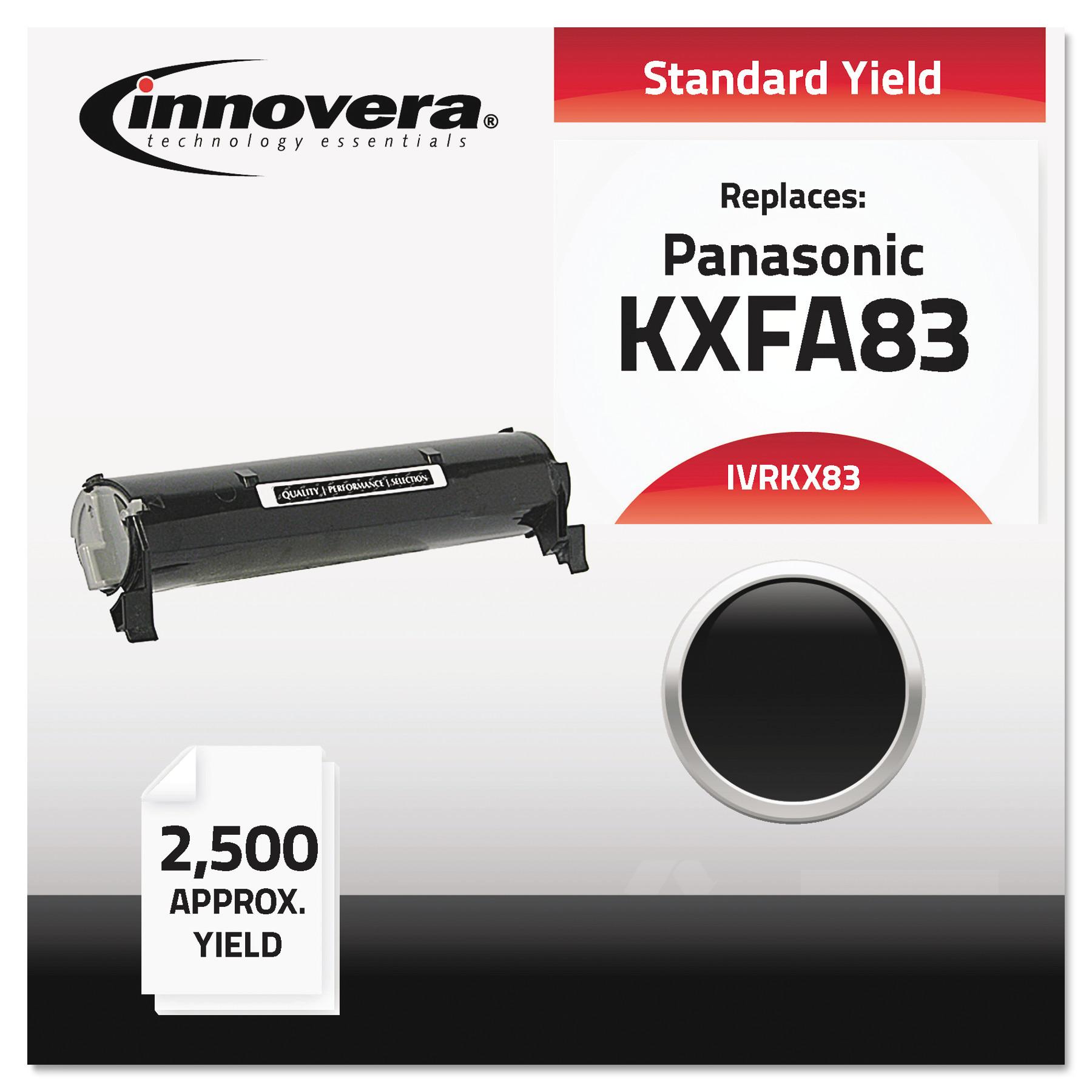 Innovera Compatible KX-FA83 Toner, Black