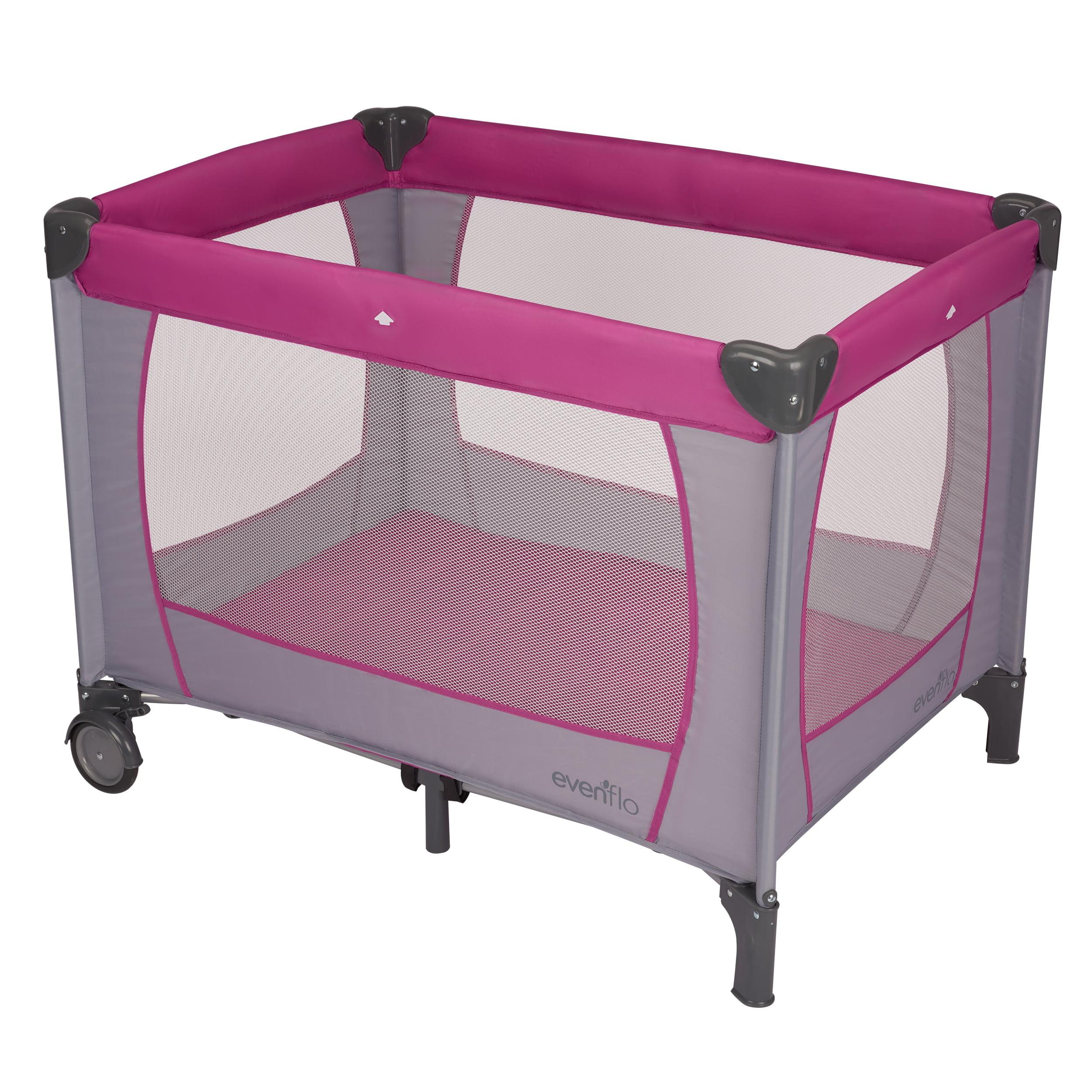 Evenflo Portable Babysuite Classic Playard, Purple Orchid