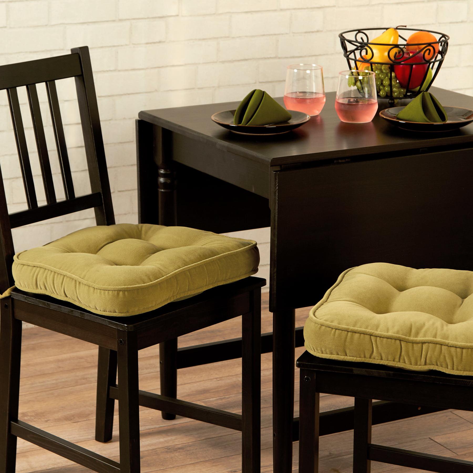 hyatt 17 x 15 in. indoor chair cushion, set of 2 - walmart