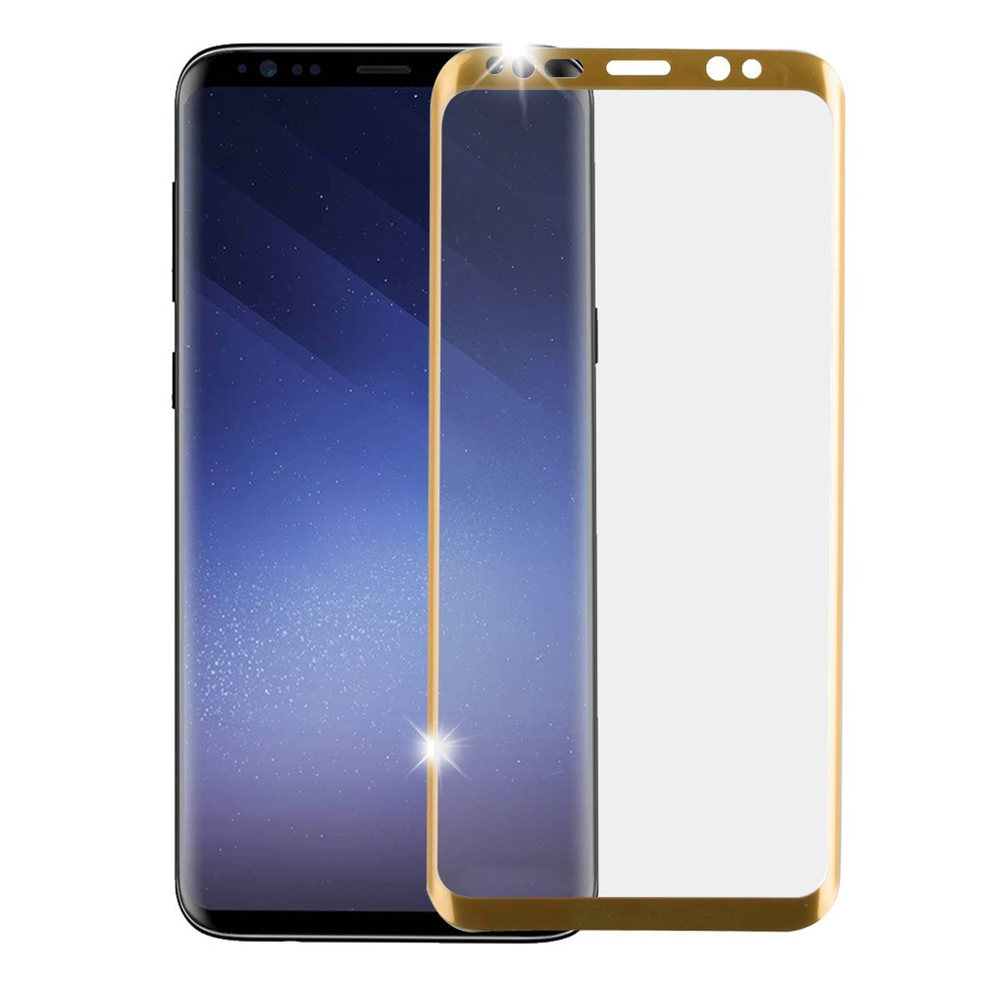 Insten Full Coverage Tempered Glass LCD Screen Protector Film Cover For Samsung Galaxy S9 Plus