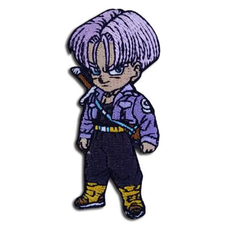 Dragon Ball Z Trunks Embroidered Iron on Patch (Embroidered Dragon Patches)