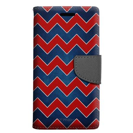 huge discount 6e035 5e5dc Samsung Galaxy S8 Active Wallet Case - Patriotic Chevrons Case