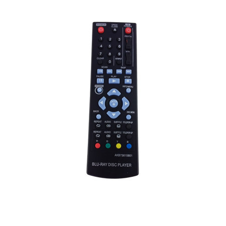 Replacement BluRay Remote Control for LG BP135WN - image 2 de 2
