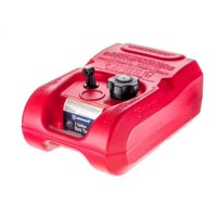 Attwood Marine 8803LP2 Red 3 Gallon EPA Compliant Fuel Tank without Gauge