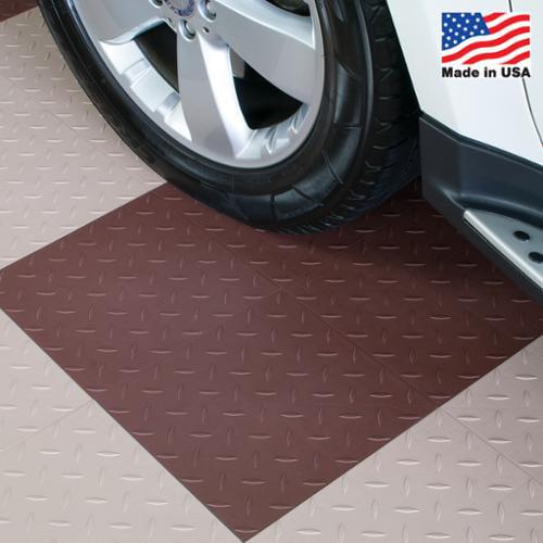 BlockTile  Garage Flooring Interlocking Diamond Top Tiles...