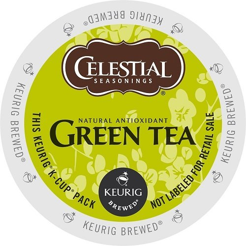 Celestial Seasonings K-Cup Portion Tea for Keurig Brewers - Green Tea