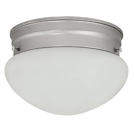 Capital Lighting  Matte Nickel 1 Light Ceiling Fixture