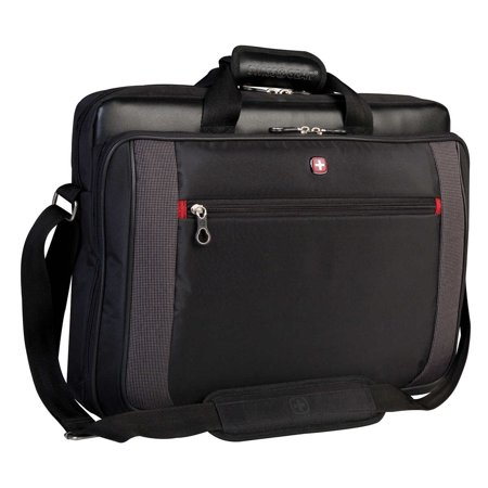 5fb6e3749 Swiss Gear Top Load 15.6 in. Laptop Briefcase - image 1 of 2 ...