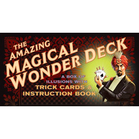The Amazing Magical Wonder Deck : A Box of Illusions with Trick Cards & Instruction (Best Tech Deck Tricks Ever)