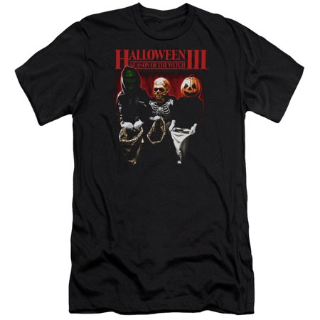Halloween III Horror Slasher Movie Series Trick Or Treat Adult Slim T-Shirt Tee