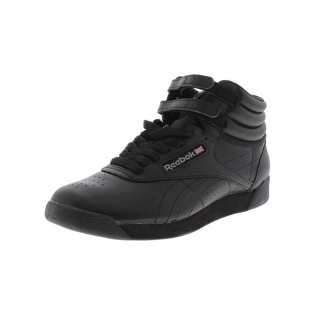 7909240e33c32 Reebok - Reebok Womens Freestyle Leather High Top Athletic Shoes -  Walmart.com