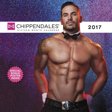 Chippendales Wall Calendar 2017