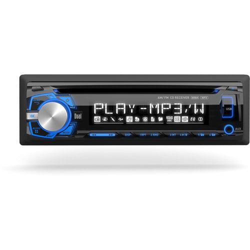 Dual XDM260 CD/MP3/USB Receiver with Front Aux Input - Walmart.com