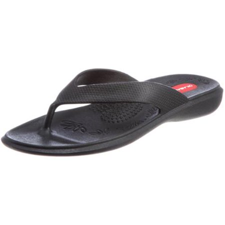 55c6572d1eb819 OKABASHI - OKABASHI MADE IN THE USA WOMENS MAUI FLIP FLOP - Walmart.com