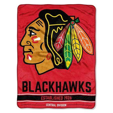 "- NHL Chicago Blackhawks ""Breakaway"" 46""x 60"" Micro Raschel Throw"