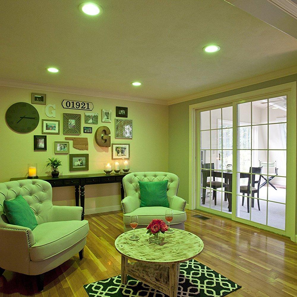 Sylvania Osram Lightify Smart Home 65W BR30 White/ Color LED Light Bulb (6 Pack) - image 6 of 9