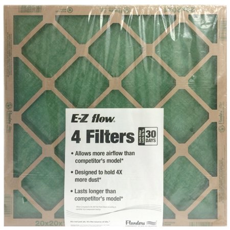 Cheap Air Filters >> Flanders 20 X 25 X 1 Precisionaire Nested Glass Air Filter