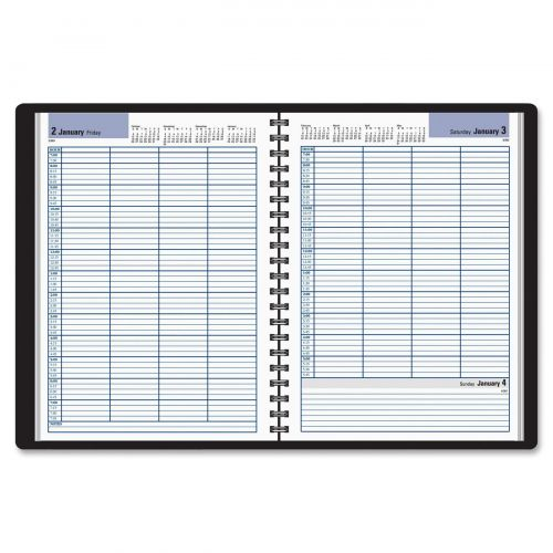 At-A-Glance DayMinder Four-Person Group Appointment Book