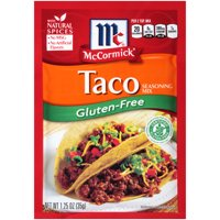 (4 Pack) McCormick Gluten Free Taco Mix, 1.25 oz