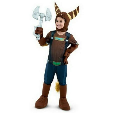 ratchet clank kids cosplay costume size small walmart com